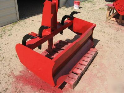 """What Is A Skid >> 60"""" gannon tractor pto mount box scraper w rippers"""