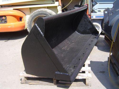 Tractor Bucket Parts : Kubota l tractor backhoe tl loader bucket quot
