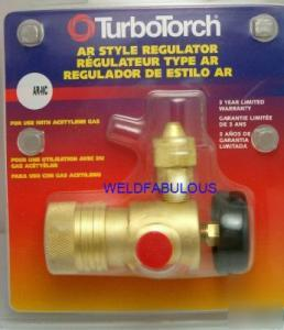 Turbotorch 0386 0726 Ar Mc Acetylene Mc Regulator
