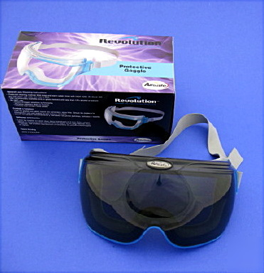 Allsafe revolution safety goggles smoke lens 30 pair