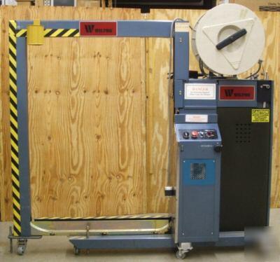 wilton strapping machine