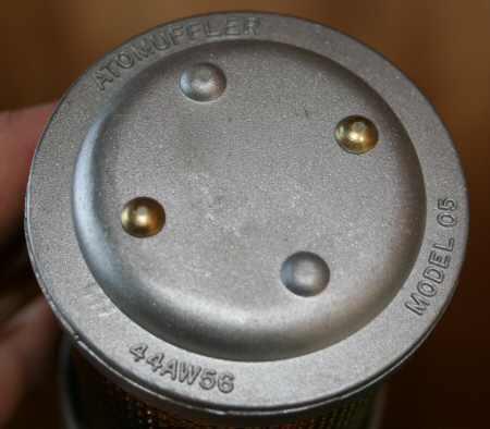 Atomuffler Air Compressor 1 2 Quot Exhaust Muffler