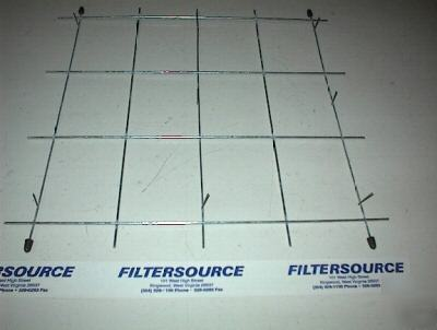 Paint spraybooth filter pad holder 20x20 steel grid for Paint booth filters 20x20