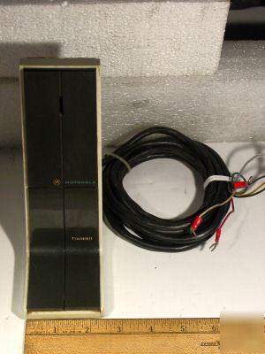 Motorola Desk Base Microphone Tmn 1004a1 Loc B 22